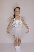 Новогодний карнавальный костюм Снежинка для девочек 5-6 лет