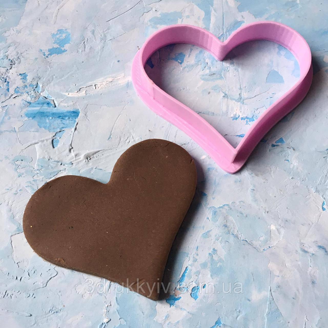 """Вирубка """"Серце #11"""" / Вырубка - формочка для пряников """"Сердце#11"""""""
