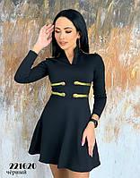 Платье женское черное (в нал. S, M, L)