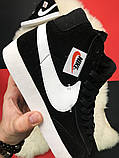 Кроссовки Nike Blazer Mid, кроссовки найк блейзер мид, фото 4