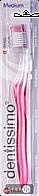 ЗУБНАЯ ЩЕТКА DENTISSIMO MEDIUM, Piave Spazzolificio   уп. №1 щетина средней жесткости