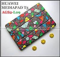 Мужской цветной чехол для Huawei Mediapad T5 10 AGS2-L09 AGS2-W09 ( Мозаика)