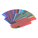 Гелевые цветные фильтры для вспышек  7х6см набор, 20 шт, фото 6