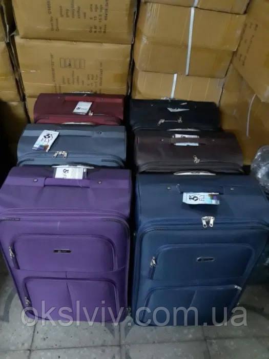 Валізи чемоданы FLY 214 Польща не 4-х. колесах