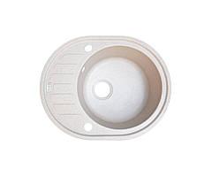 Кухонна мийка Borgio OVM-620x500 (мигдаль)