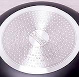 A0630IND Сковорода Ø30см індукція з антипригарним покриттям штампований алюміній, фото 4