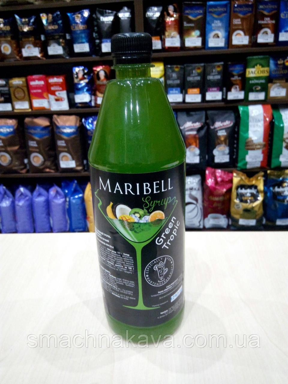 Сироп Зеленый тропик  ТМ Maribell в пластике 1 л
