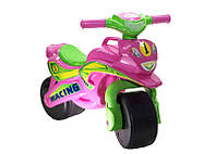 """Мотоцикл-каталка """"Спорт"""" (розовый) музыкальный"""