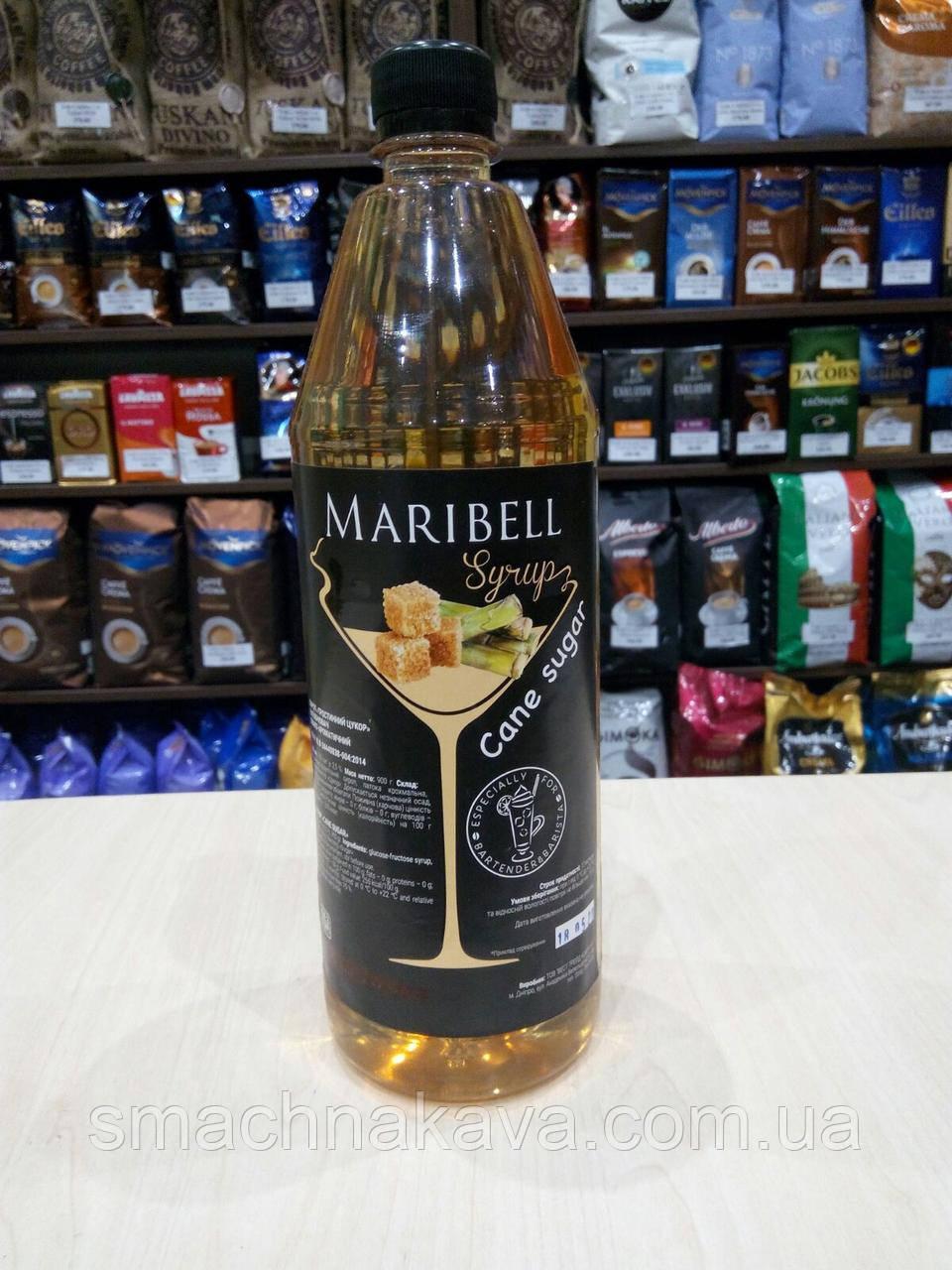 Сироп Тростниковый сахар ТМ Maribell в пластике 1 л