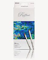 Карандаши Raffine, 24 цвета, шестигранные, в кор.18*9*2см, ТМ Marco (6шт)