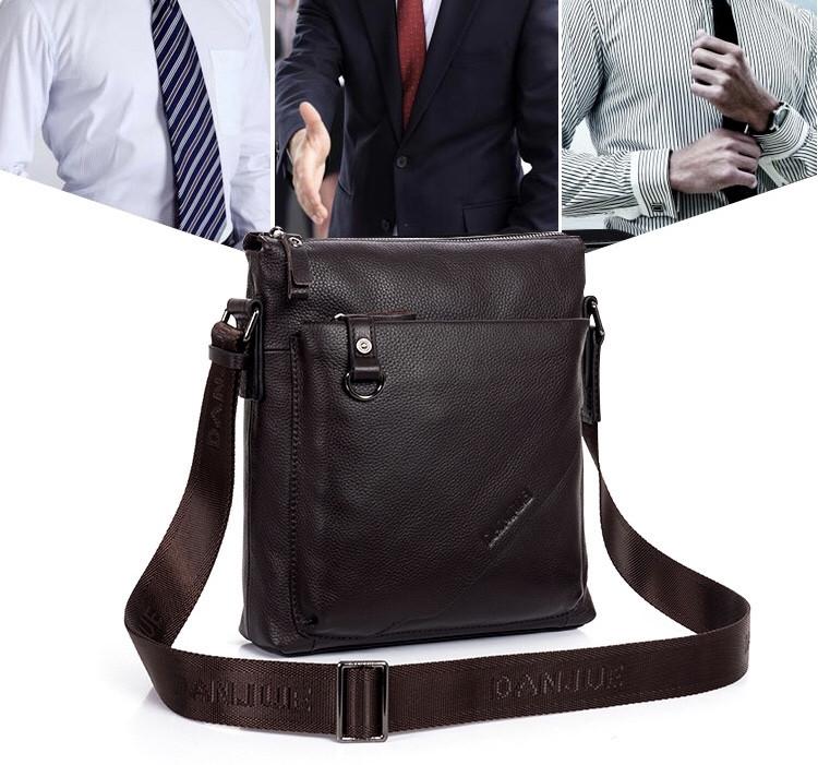 Мужская кожаная сумка. Модель 63176
