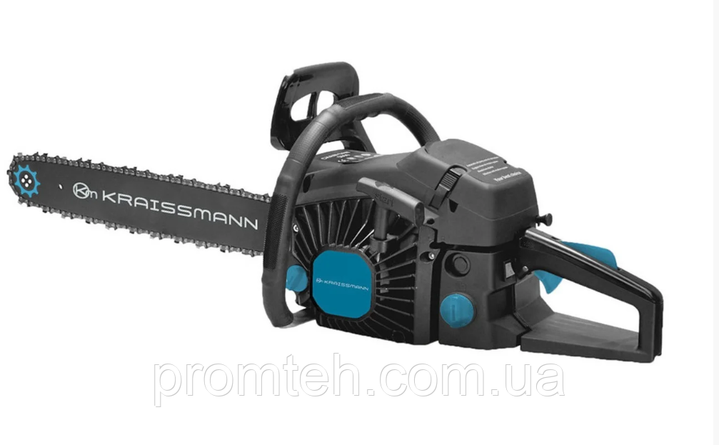 Бензопила KRAISSMANN KS 65 CC (1 шина, 1цепь бренда E&S супер зуб)