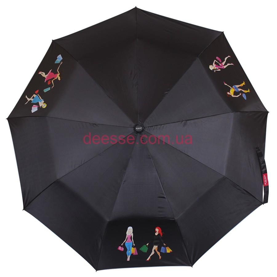 Зонт складной de esse  полуавтомат Девушки