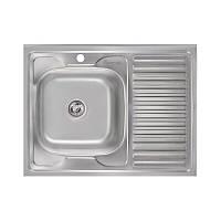 Кухонная мойка Imperial 6080-L Satin (IMP6080LSAT)