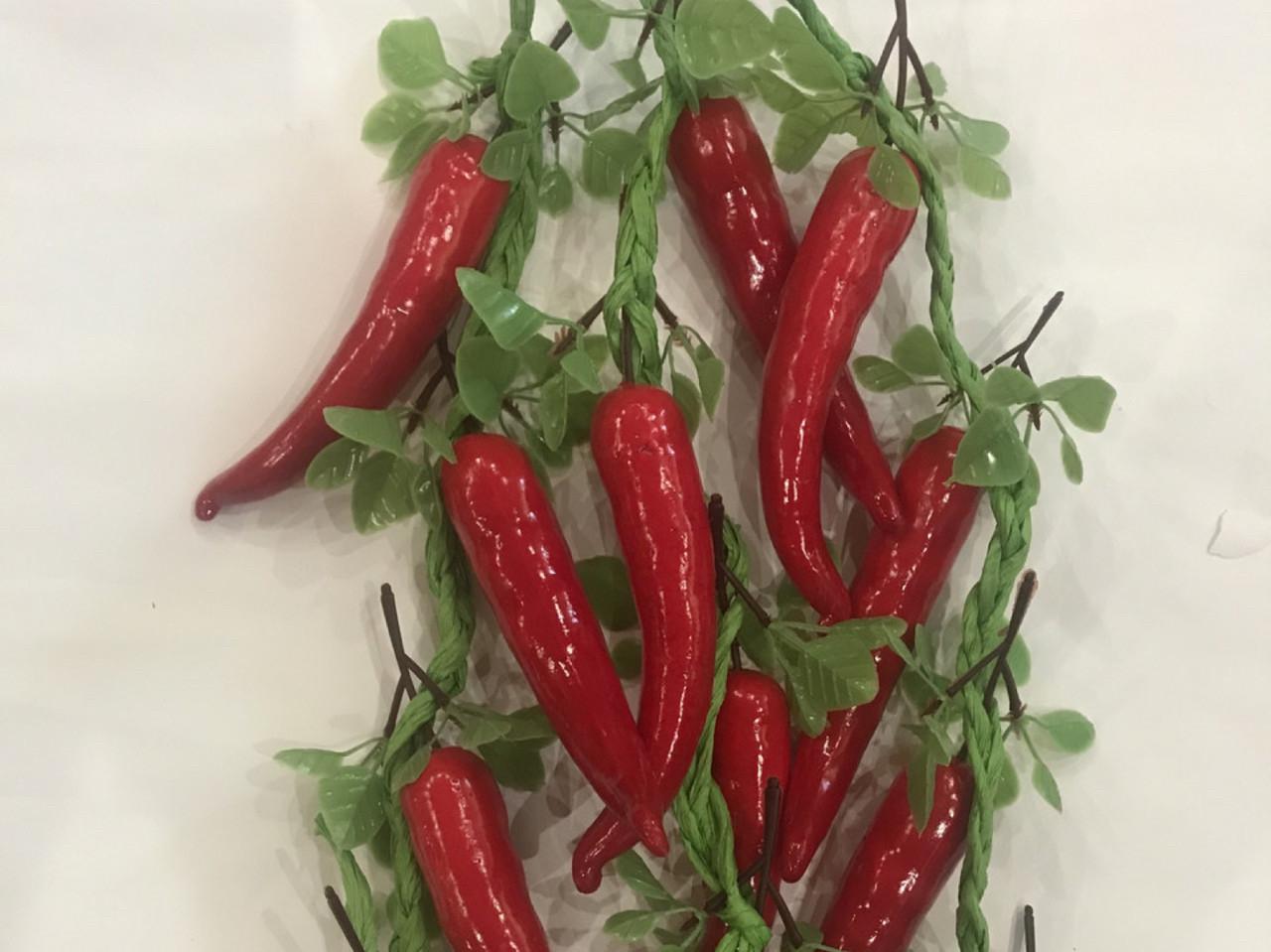 Перец Чили для декора ( вязка 50 см)