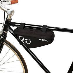 Сумка для велосипеда B-Soul X-11 (13х28 см) Black