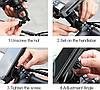 Крепление для телефона на велосипед Queshark 360 (12-18 см), фото 7