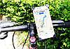 Крепление для телефона на велосипед Queshark 360 (12-18 см), фото 9