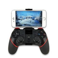 Беспроводной Геймпад Terios T-6 Джойстик + крепление Bluetooth для PC iOS Android для смартфона, PC, Smart TV