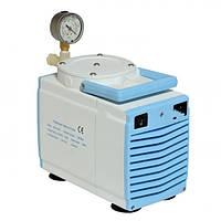 Насос вакуумный мембранный GM-0,33ІІ (1 ступенчатый, 20 л/мин, 200 мбар, 0,8 бар) Китай Медаппаратура