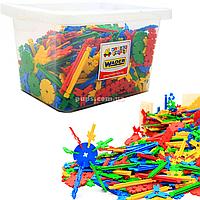Конструктор WADER листочки в контейнере, 800 эл (80182)