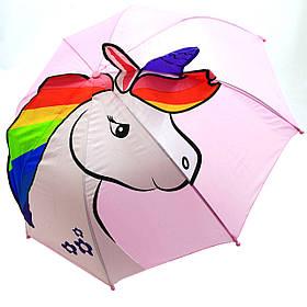 Детский зонтик «Единорог» для девочек (CEL-371)