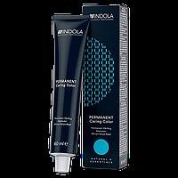 Краска для волос INDOLA Permanent Caring Color чёрный (1.0) 60 мл.