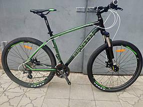 Горный алюминиевый велосипед 27.5 BENETTI Supremo DD Al, фото 3