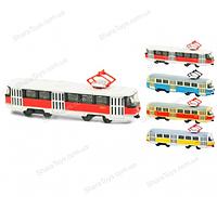 Модель трамвая маленькая