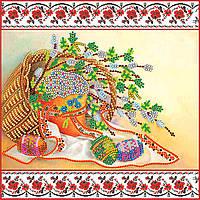 """Схема для вышивания бисером на художественном холсте """"Светлое Христово Воскресение"""""""