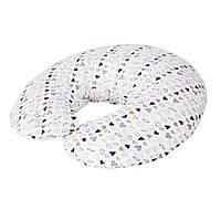 Для беременных подушка Ceba Baby Physio Mini джерси Amore, 180x33 см., белая