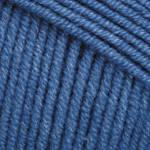 Летняя пряжа (55%-хлопок, 45%- полиакрил; 50г/160м) YarnArt Jeans 16 (синий)