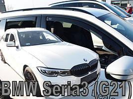 Дефлекторы окон (ветровики)  BMW 3 G21 5-ДВЕРНЫЙ 2019-> КОМБИ