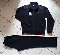 Спортивный костюм мужской темно синий турецкий