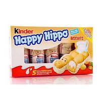 Вафельные батончики Kinder Happy Hippo с ореховым кремом