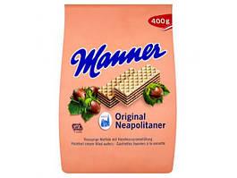Вафли Manner Ореховые Neapolitaner 400 g