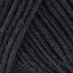 Летняя пряжа (55%-хлопок, 45%- полиакрил; 50г/160м) YarnArt Jeans 53 (черный)