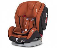 Детское автокресло 9-36 кг с положением для сна группа 1-2-3 EasyGo Nino copper оранжевое (8396)