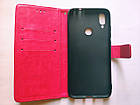 Чехол книжка Idewei для Xiaomi Redmi 7 Розовый, фото 2