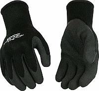 Теплые прорезиненные рабочие перчатки Kinco размер L