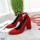 Шикарные женские туфли на каблуке, фото 2