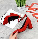Шикарные женские туфли на каблуке, фото 7