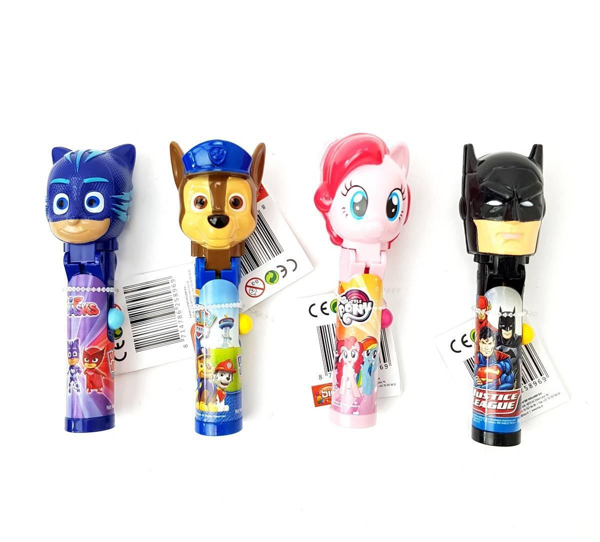 Конфеты Pop Ups Lollipop Супермен 10 g