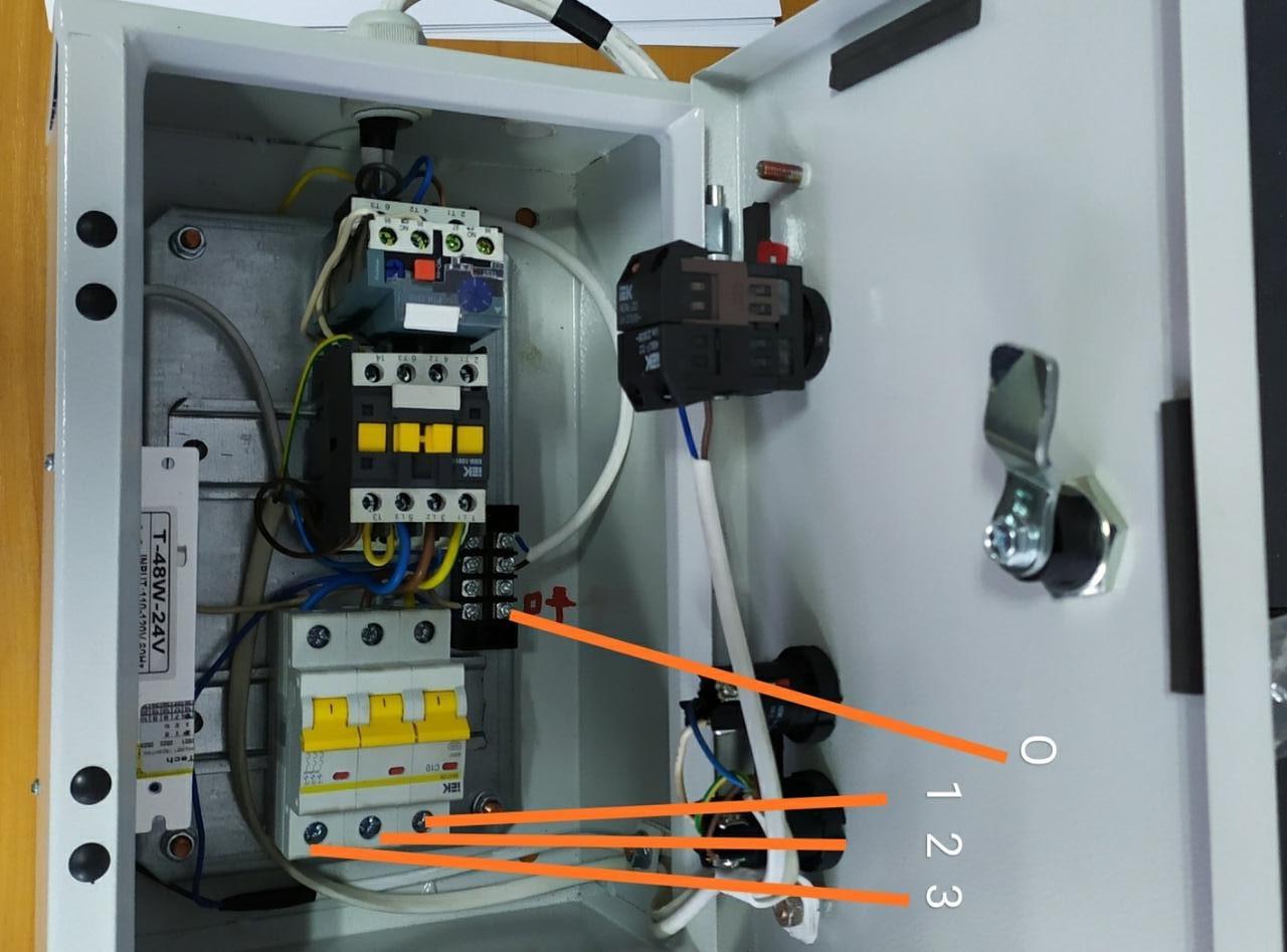 BEHU-5A-50DC Шкаф Управления Гидростанцией