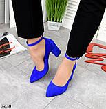 Шикарные женские туфли на каблуке, фото 4