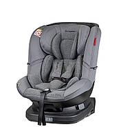 Автокресло 360 поворотное для новорожденных с системой крепления isofix Coletto Millo 0-18, серое (9378)