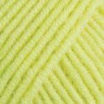 Летняя пряжа (55%-хлопок, 45%- полиакрил; 50г/160м) YarnArt Jeans 58 (желтый неон)