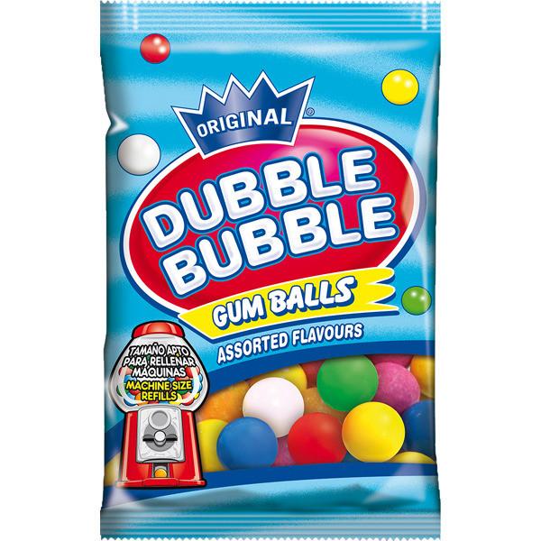Dubble Bubble Gum Balls Assorted Flavor 90 g