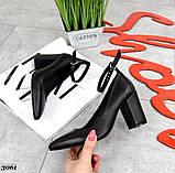 Шикарные женские туфли на каблуке, фото 5