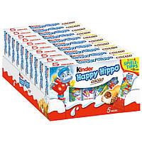 Батончики Kinder Happy Hippo cacao опт